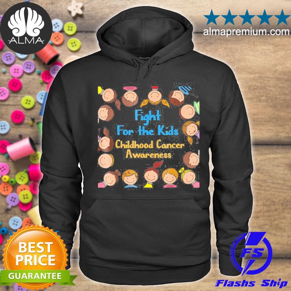 A childhood cancer awareness fight for the kids s hoodie