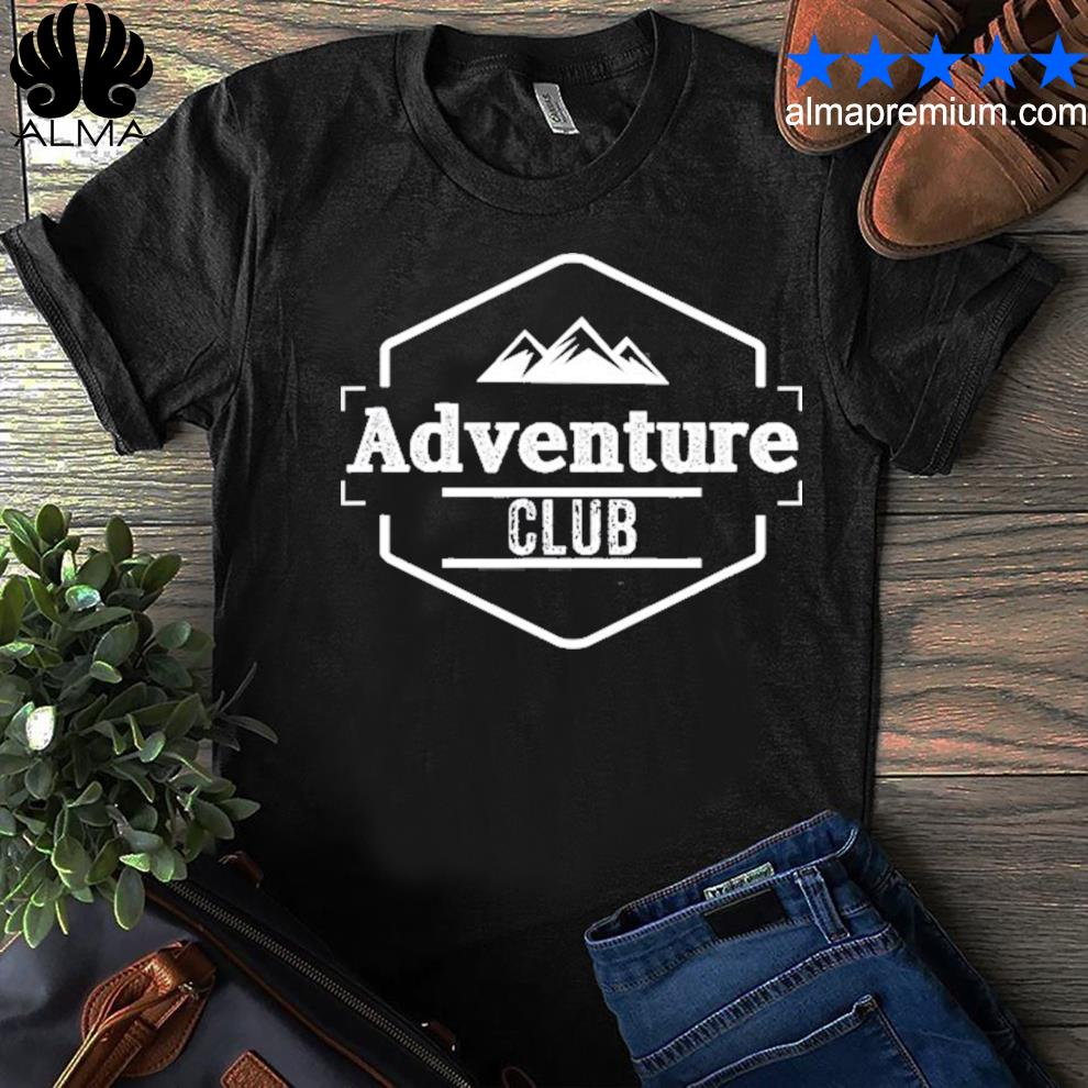 Adventure club mountain shirt