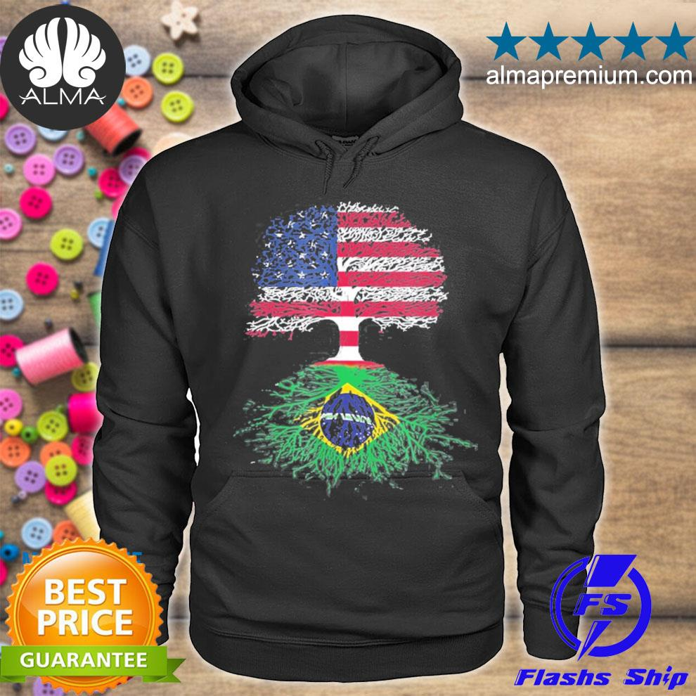 American tree with brazilian roots s hoodie