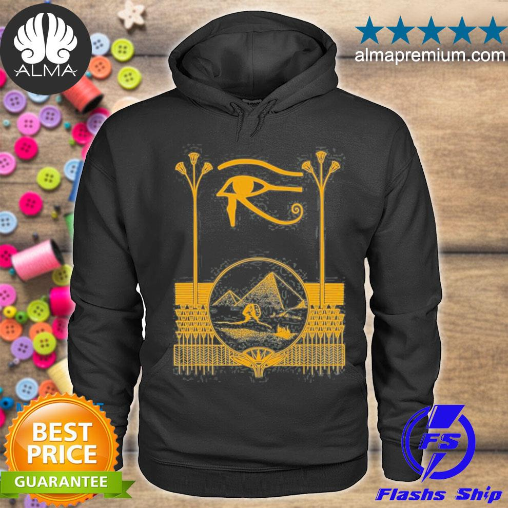 Ancient egyptian eye of horus Egypt art pyramid s hoodie