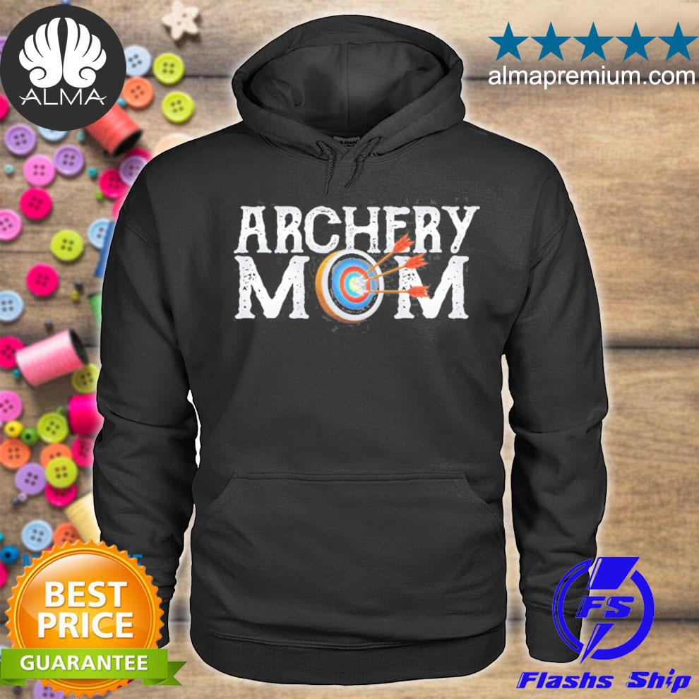 Archery archer mom target proud parent bow arrow s hoodie