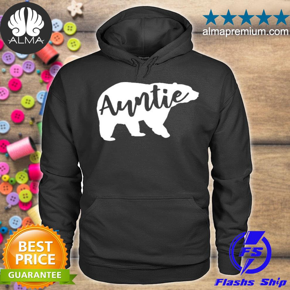 Auntie bear aunt life camping s hoodie