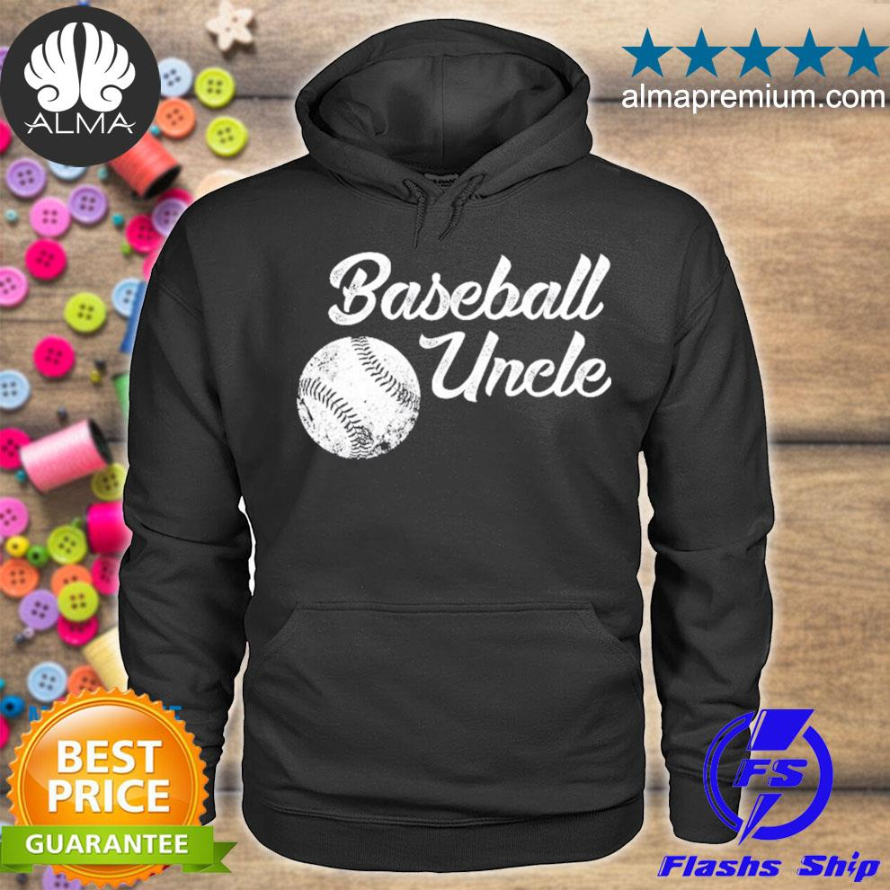Baseball uncle baseball cute funny lingo player fan s hoodie