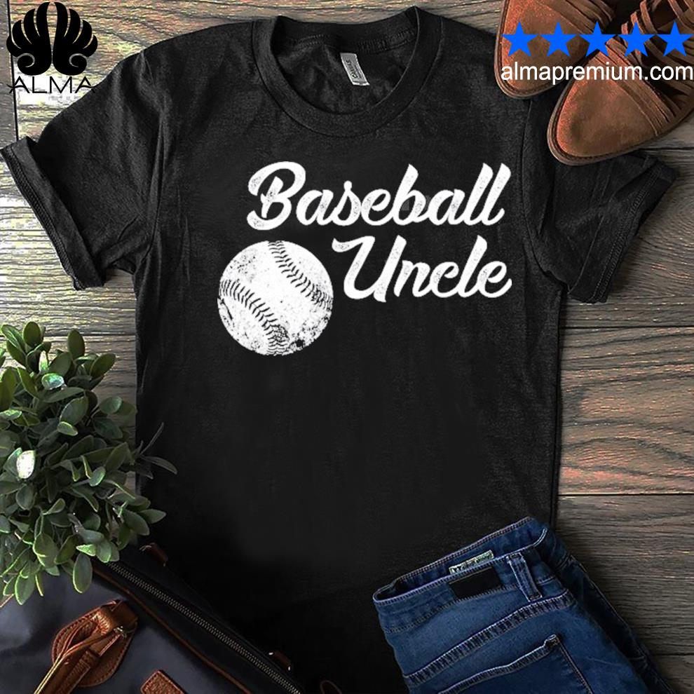 Baseball uncle baseball cute funny lingo player fan shirt