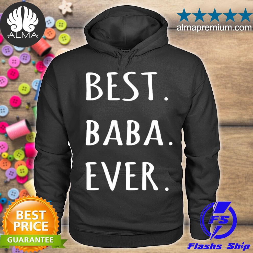 Best baba ever chinese and arabic word for dad s hoodie