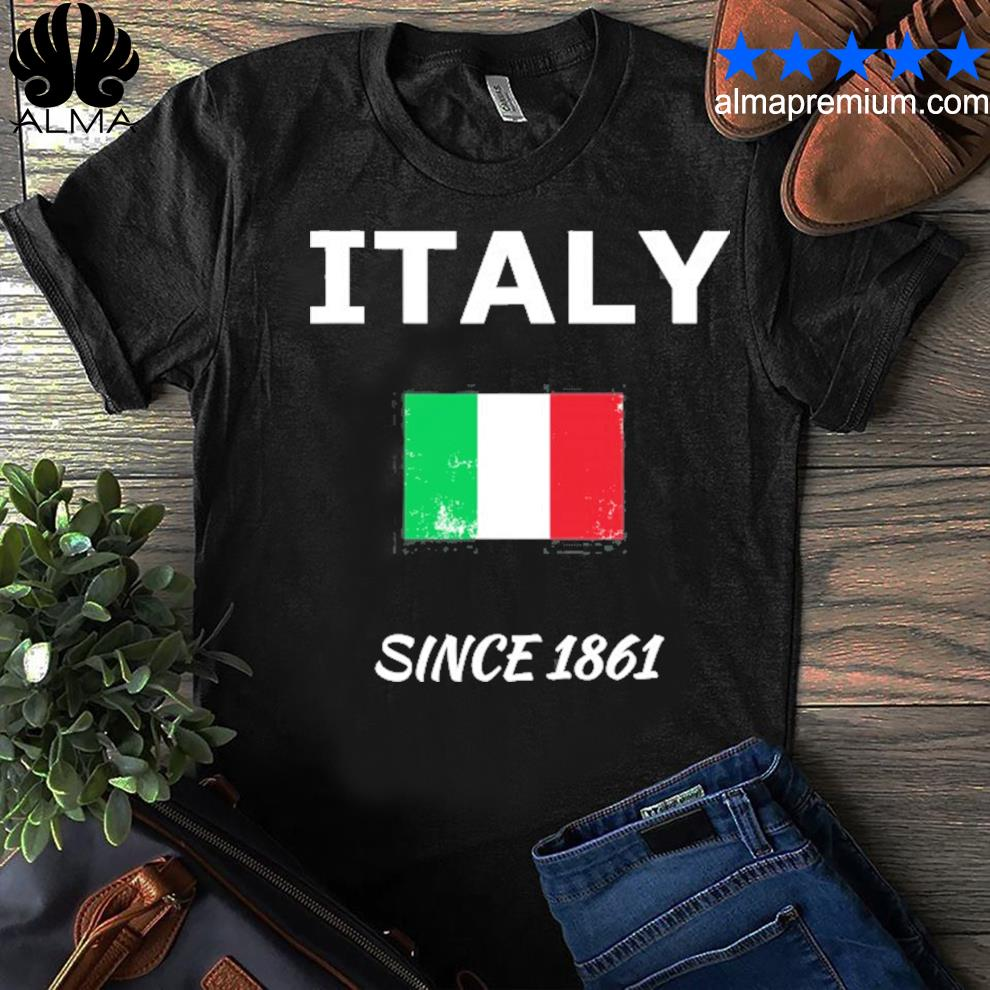 Italy flag apparel for italians shirt