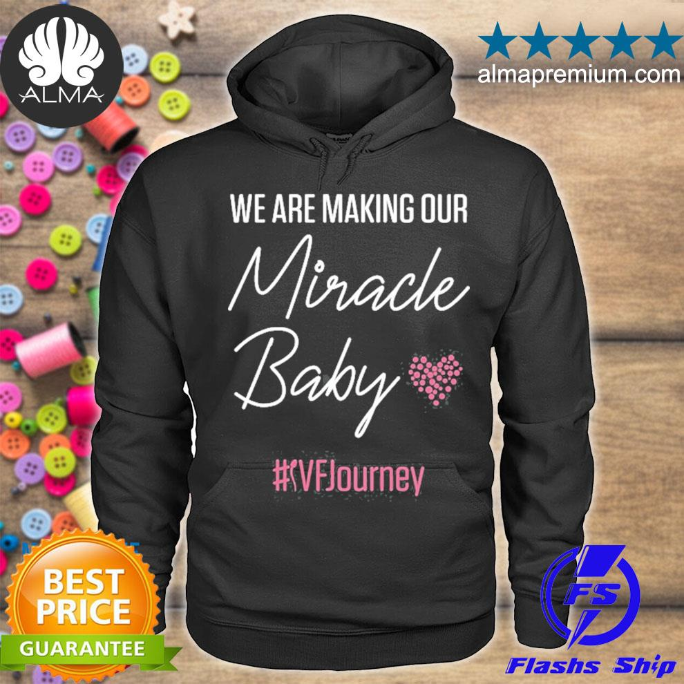Ivf warrior dad mom baby transfer day infertility s hoodie