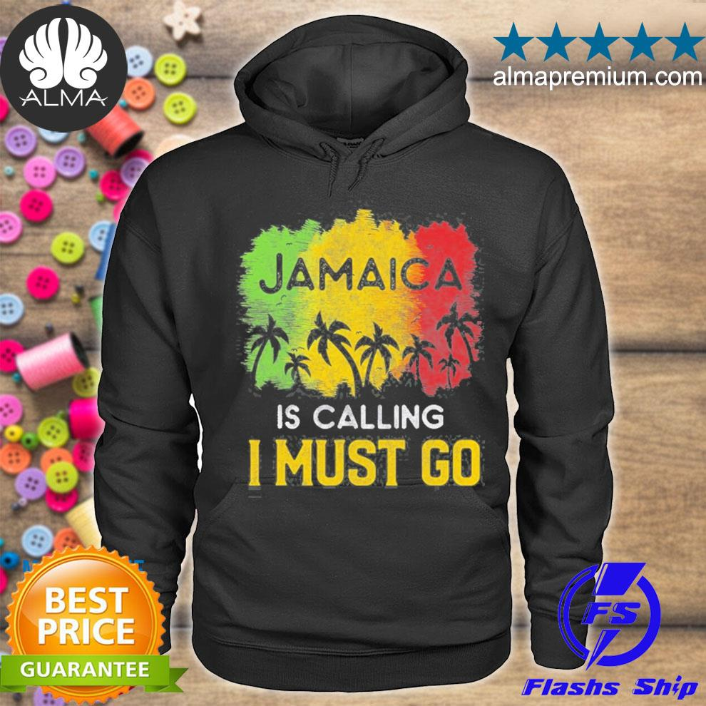 Jamaica is calling I must go beach vacation sunset s hoodie