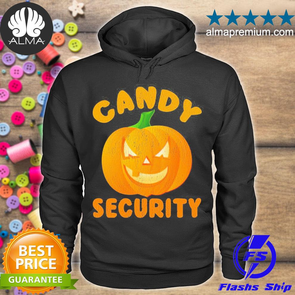 Candy security halloween funny 2021 s hoodie