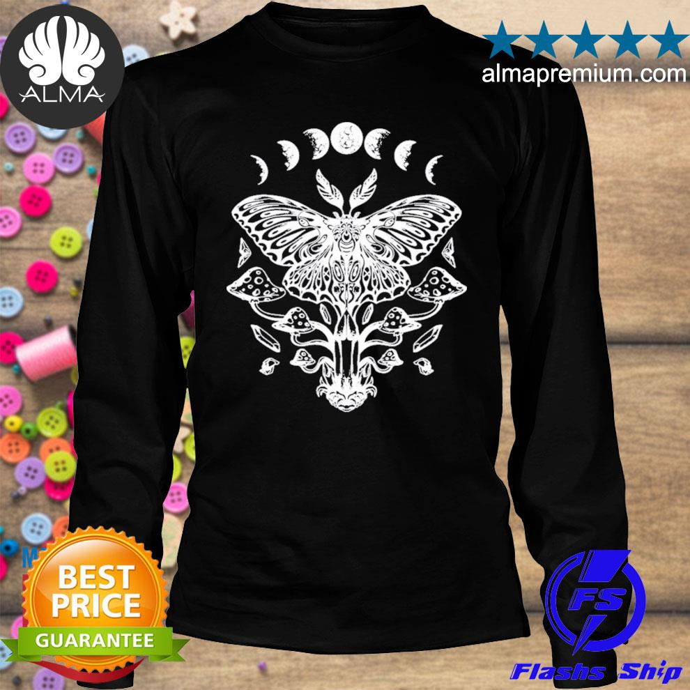 Moth crystals moon phases dark goth gothic occult wicca new 2021 shirt