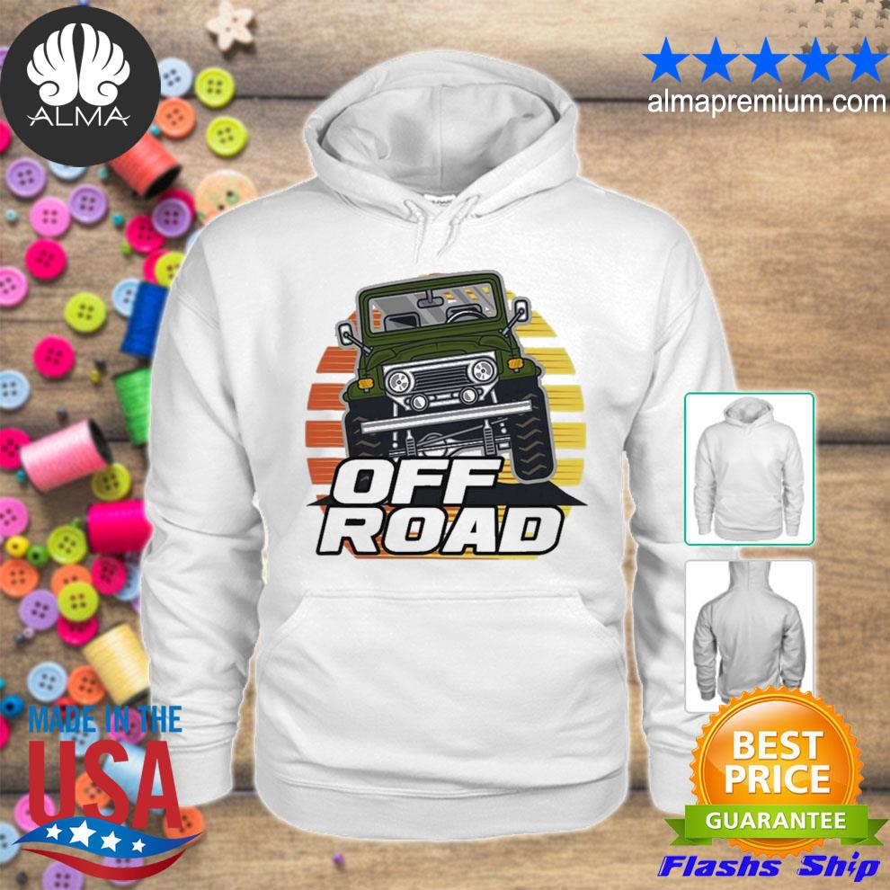 Vintage suv retro 70s 80s sunset off road 2021 s hoodie
