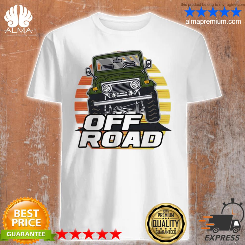 Vintage suv retro 70s 80s sunset off road 2021 shirt