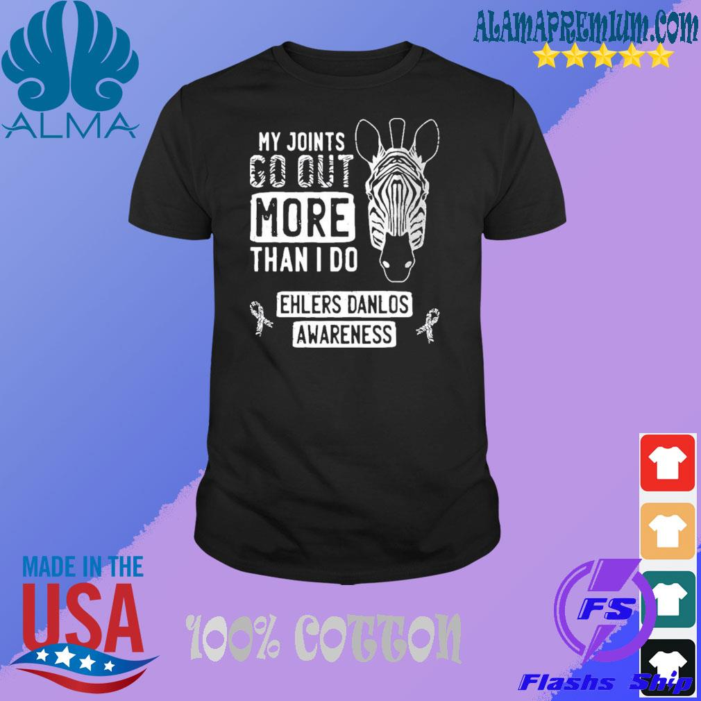 My joints go out ehlersdanlos syndrome eds awareness zebra shirt
